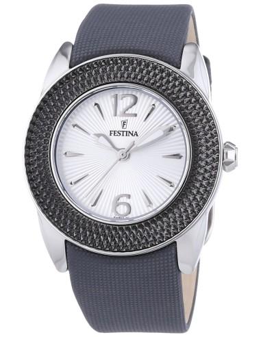 Orologio Donna FESTINA F16592/5 Cassa in Acciaio Cinturino in Tessuto