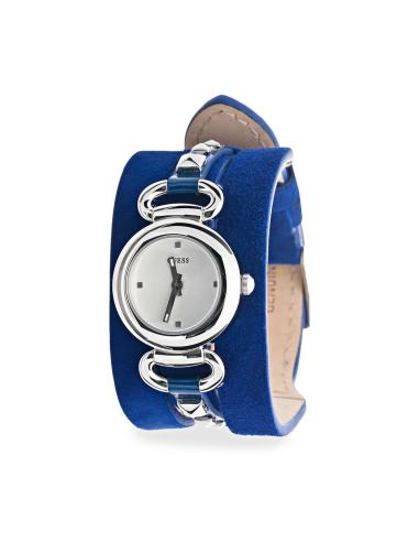 Orologio Donna GUESS W0160L3 Cassa in Acciaio Cinturino in Pelle
