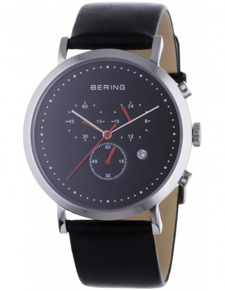 Orologio Uomo BERING 10540-402 Cassa in Acciaio Cinturino in Pelle