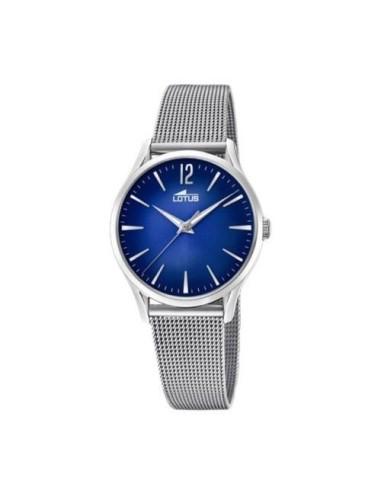 Orologio Donna Lotus 18408/3 Acciaio Quadrante  Azzurro