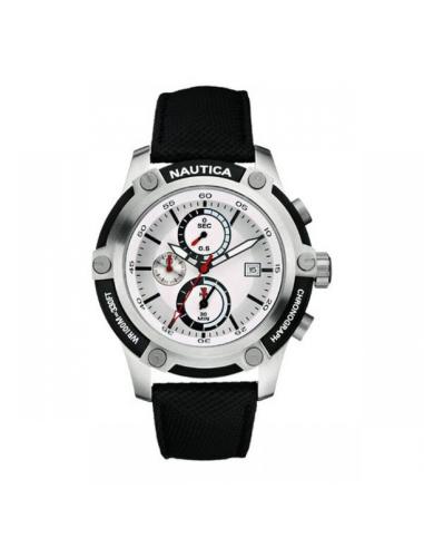 Orologio Uomo NAUTICA A17574G Cassa Acciaio Cinturino in Pelle
