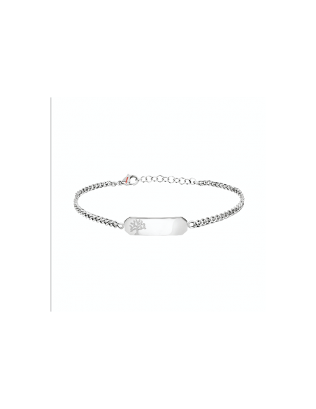 BRACCIALE SECTOR SZS55 ACCIAIO BIANCO DONNA BASIC BR SS TAG TREE OF LIFE